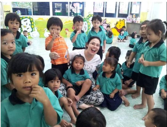 Volunteers as Assistant English Teacher (age of pupils 3-5 years) for Thong Thos pre-school project in Thailand