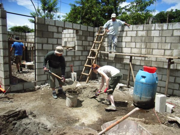 Freiwillige für Hausbau Project in Guatemala