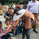 Volunteers as care taker for 'rehab' project of streetchildren in India